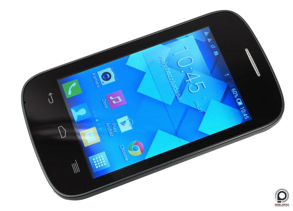 Alcatel One Touch Pop C1 Dual Sim Mobiltelefon Fekete