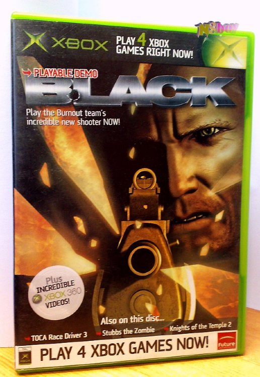 Xbox Classic játék: Official Xbox Magazine Game disc 53: Black