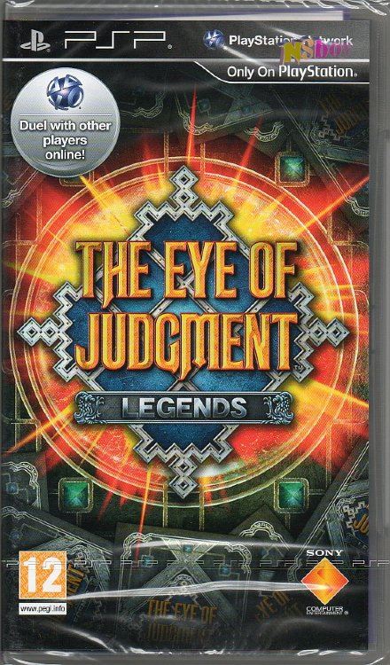 PSP játék: the eye of judgment legends, Originált!