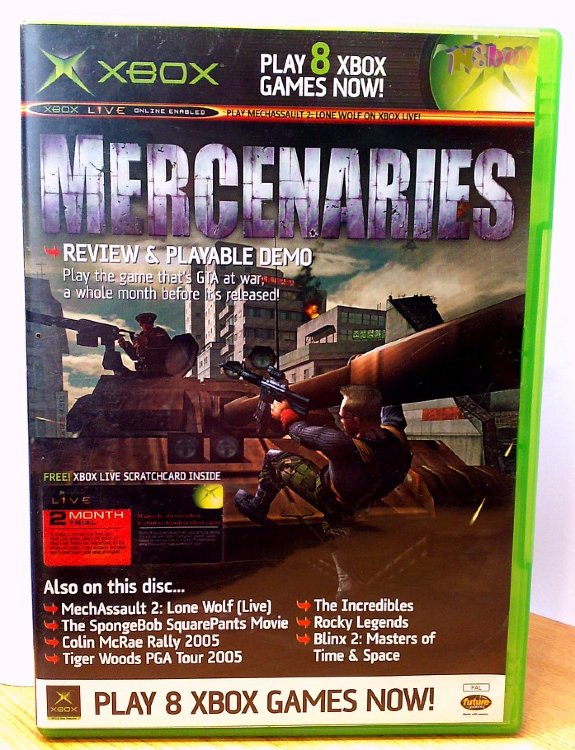 Xbox Classic játék: Official Xbox Magazine Game disc 39: Mercenaries