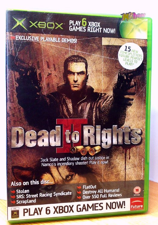 Xbox Classic játék: Official Xbox Magazine Game disc 44: Dead to rights