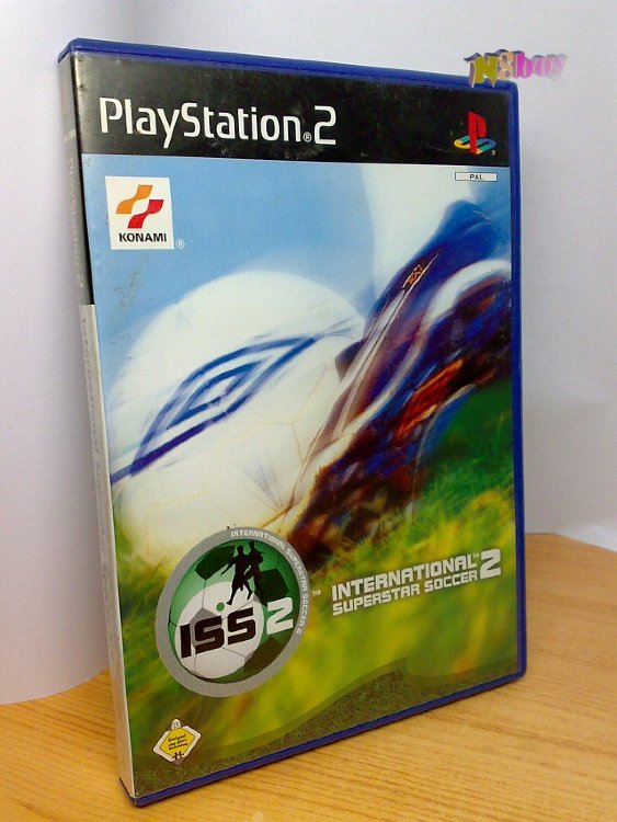 Playstation 2, PS2 játék: International Superstar soccer, eredeti tokjában.